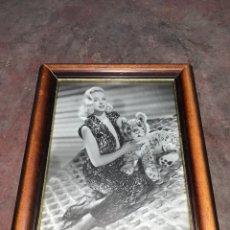 Vintage: CUADRO MARILYN MONROE. Lote 289526373