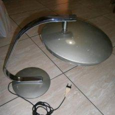 Vintage: ANTIGUA LAMPARA VINTAGE OVNI PLATILLO EN BUEN ESTADO FUNCIONANDO - ESPECTACULAR. Lote 295705743