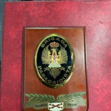 Vintage: ESCUDO DE LA BRIGADA PARACAIDISTA. Lote 296611293