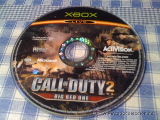Xbox One: Call of Duty 2 Big Red One para Microsoft Xbox PAL Juego Solo Disco Live - Para Pulir - Foto 1 - 47672833