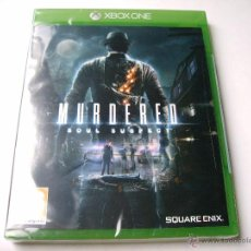 Xbox One: MURDERED SOUL SUSPECT XBOX ONE (NUEVO). Lote 53706836
