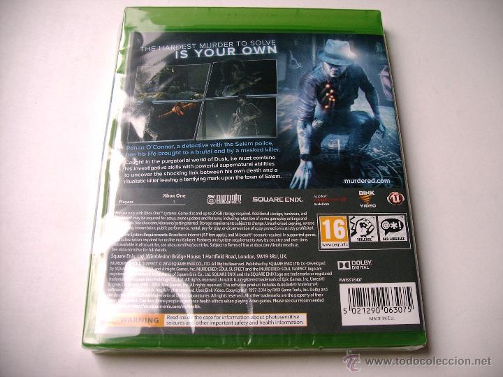 Xbox One: murdered soul suspect xbox one (NUEVO) - Foto 2 - 53706836