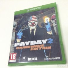 Xbox One: PAYDAY 2 CRIMEWAVE EDITION. Lote 61615252