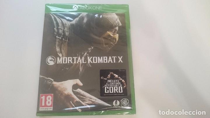 MORTAL KOMBAT X INCLUYE GORO MICROSOFT XBOX ONE NUEVO ESPAÑA PRECINTADO (Juguetes - Videojuegos y Consolas - Xbox One)
