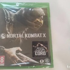 Xbox One: MORTAL KOMBAT X INCLUYE GORO MICROSOFT XBOX ONE NUEVO ESPAÑA PRECINTADO. Lote 63728919