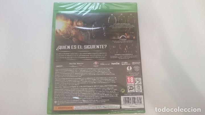 Xbox One: MORTAL KOMBAT X INCLUYE GORO MICROSOFT XBOX ONE NUEVO ESPAÑA PRECINTADO - Foto 2 - 63728919