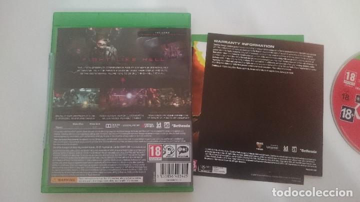 Xbox One: JUEGO DOOM PAL MICROSOFT XBOX ONE CASTELLANO. MUY BUEN ESTADO - Foto 5 - 63763523