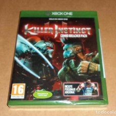 Xbox One: KILLER INSTINCT : COMBO BREACKER PACK PARA XBOX ONE, A ESTRENAR, PAL. Lote 70586521