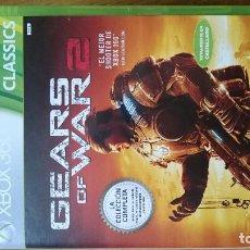 Xbox One: GEARS OF WAR 2 XBOX ONE Y XBOX 360 VIDEOJUEGO DVD. Lote 70700069