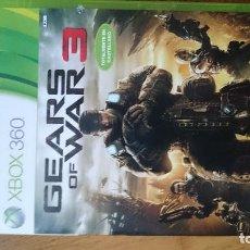 Xbox One: GEARS OF WAR 3 XBOX ONE Y XBOX 360 VIDEOJUEGO DVD. Lote 70700545