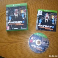 Xbox One: JUEGO XBOX ONE PAY DAY 2 CRIME WAVE EDITION. Lote 78254685