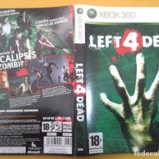 Xbox One: LEFT 4 DEAD (CARATULA). Lote 79754181