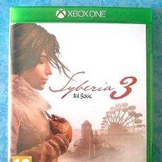 Xbox One: SYBERIA 3 - B.H. SOKAL - XBOX ONE - MICROIDS. Lote 87582504