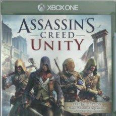 Xbox One: ASSASSIN'S CREED UNITY SPECIAL EDITION CONTIENE DLC REVOLUCION QUIMICA (PRECINTADO). Lote 88903756