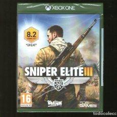 Xbox One: SNIPER III 3 XBOX ONE - NUEVO PRECINTADO. Lote 91917605