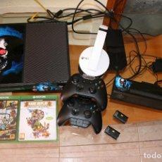 Xbox One: XBOX ONE +GTA 5 + KINECT + 2 MANDOS (1 SCUF) + 2 BATERIAS + AURICULARES OFICIALES+ RARE LOTE XBOX. Lote 93355715