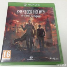 Xbox One: SHERLOCK HOLMES THE DEVIL'S DAUGHTER. Lote 93927695