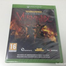 Xbox One: WARHAMMER THE END TIMES VERMINTIDE. Lote 93928525