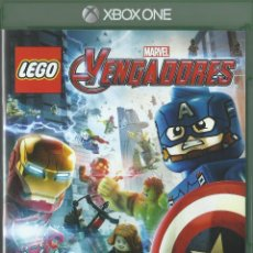 Xbox One: LEGO MARVEL VENGADORES. Lote 94071855