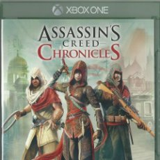Xbox One: ASSASSIN'S CREED CHRONICLES PACK. Lote 94444050