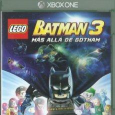 Xbox One: LEGO BATMAN 3: MÁS ALLÁ DE GOTHAM. Lote 94725303