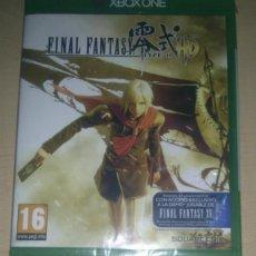 Xbox One: FINAL FANTASY TYPE-0 HD ORIGINAL PAL ESPAÑA NUEVO A ESTRENAR PRECINTADO XBOX ONE. Lote 95184007