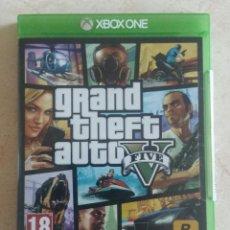 Xbox One: JUEGO XBOX ONE - GRAND THEFT AUTO V (5) PAL ESPAÑA BUEN ESTADO Y COMPLETO!!!!. Lote 96862223