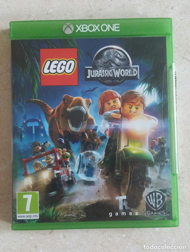 JUEGO XBOX ONE - LEGO JURASSIC WORLD PAL ESPAÑA BUEN ESTADO Y COMPLETO!!!! (Juguetes - Videojuegos y Consolas - Xbox One)