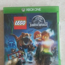 Xbox One: JUEGO XBOX ONE - LEGO JURASSIC WORLD PAL ESPAÑA BUEN ESTADO Y COMPLETO!!!!. Lote 96862391