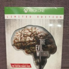 Xbox One: THE EVIL WITHIN LIMITED EDITION XBOX ONE. Lote 97476207