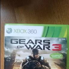 Xbox One: GEARS OF WAR 3 XBOX ONE Y XBOX 360 VIDEOJUEGO DVD. Lote 70700545