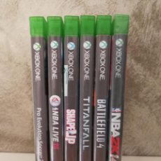 Xbox One: LOTE JUEGOS XBOX ONE. Lote 97801663