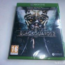 Xbox One: BLACKGUARDS 2 XBOX ONE NUEVO Y PRECINTADO. Lote 97910027