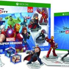 Xbox One: DISNEY INFINITY 2.0: MARVEL SUPER HEROES STARTER PACK (A ESTRENAR)). Lote 101589171