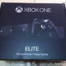 Xbox One: CAJA VACIA CON INTERIORES XBOX ONE ELITE . Lote 101925403