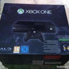 Xbox One: CAJA VACIA CON INTERIORES XBOX ONE HALO. Lote 101925591