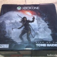 Xbox One: CAJA VACIA CON INTERIORES XBOX ONE RISE OF THE TOMB RAIDER. Lote 101925679