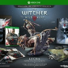Xbox One: THE WITCHER 3 WILD HUNT EDICION COLECCIONISTA XBOX ONE. Lote 103787672