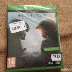 Xbox One: HALO 5 NUEVO MICROSOFT XBOX ONE X-ONE XONE KREATEN. Lote 106665823
