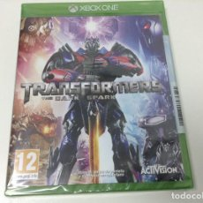 Xbox One: TRANSFORMERS THE DARK SPARK. Lote 107719351