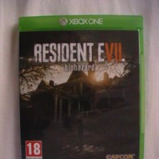 Xbox One: RESIDENT EVIL 7 (XBOX ONE). Lote 109155979
