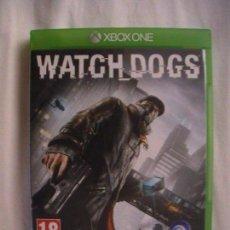 Xbox One: WATCH DOGS (XBOX ONE). Lote 109156087