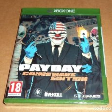 Xbox One: PAYDAY 2 : CRIMEWAVE EDITION PARA MICROSOFT XBOX ONE, A ESTRENAR, PAL. Lote 109454635