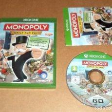Xbox One: MONOPOLY FAMILY FUN PACK PARA MICROSOFT X-BOX ONE , PAL. Lote 109454683