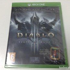 Xbox One: DIABLO III REAPER OF SOULS ULTIMATE EVIL EDITION. Lote 110004195