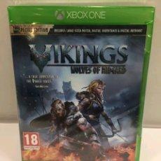 Xbox One: VIKINGS WOLVES OF MIDGARD ORIGINAL NUEVO PRECINTADO XBOX ONE PAL. Lote 110028890