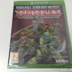 Xbox One: TEENAGE MUTNAT NINJA TURTLES MUTANTES EN MANHATTAN. Lote 110069419