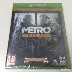 Xbox One: METRO REDUX. Lote 110069639