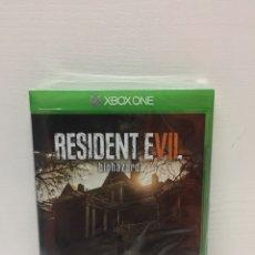 Xbox One: RESIDENT EVIL 7 NUEVO PRECINTADO. Lote 126004979