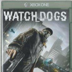Xbox One: WATCH DOGS (PRECINTADO). Lote 111585407